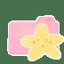 Folder-Candy-Starry-Sad icon