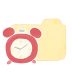 Folder-Vanilla-Clock icon