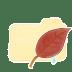 Folder-Vanilla-Leaf icon