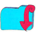 Osd-folder-b-downloads icon