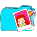 Osd folder b photos icon