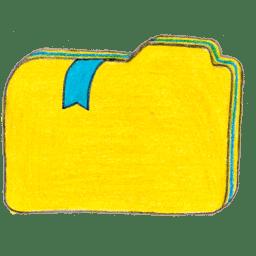 Osd folder y bookmarks 1 icon