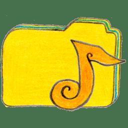 Osd folder y music icon