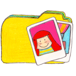 Osd folder y photos icon