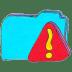 Osd-folder-b-warning icon