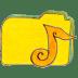 Osd-folder-y-music icon