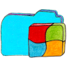 Osd-folder-b-windows icon