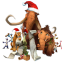 Ice Age Christmas icon