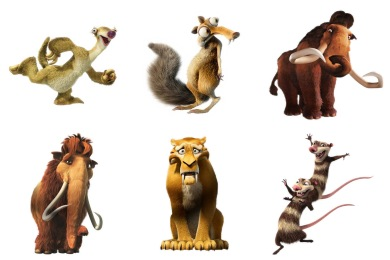 Ice Age 4 Icons