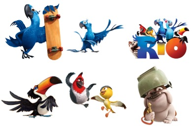 Rio Film Icons