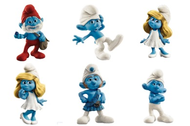 The Smurfs Icons