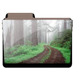 Forest folder icon
