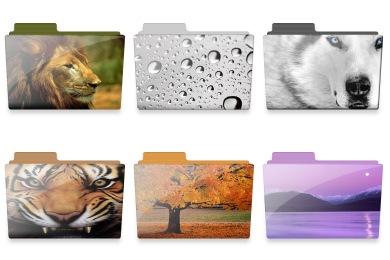 Nature Folder Icons