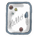 Whiteboard icon