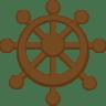 Ship-steering-wheel icon