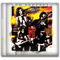 Led Zeppelin how the west was won icon