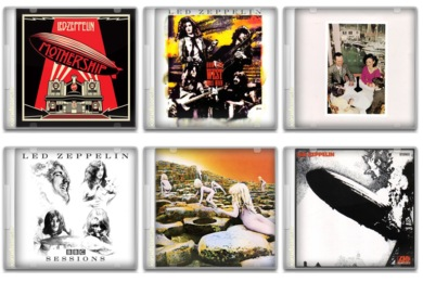 Led Zeppelin Icons