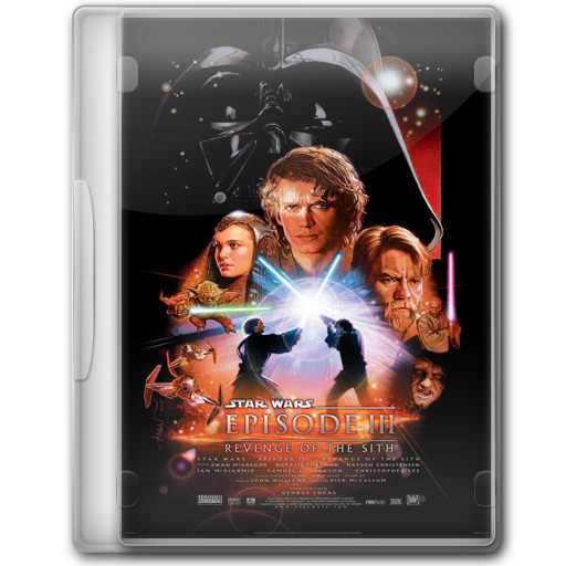 Star Wars Revenge Of The Sith Icon Star Wars Dvd Iconset Manueek