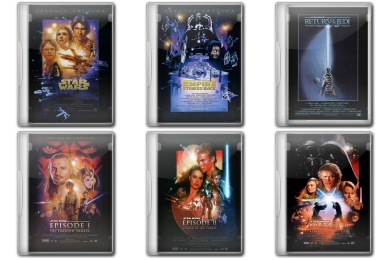 Star Wars DVD Icons