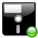 Floppy mount icon
