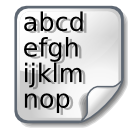 Ascii icon