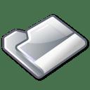 Folder grey icon