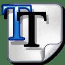 Font truetype icon