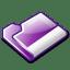 Folder-violet icon
