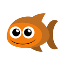 Gold fish icon