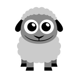 Sheep Icon | Flat Animal Iconset | Martin Berube