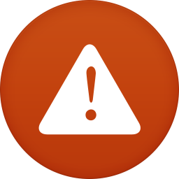 Warning Icon Circle Addon 2 Iconset Martz90