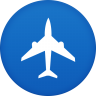 Plane-flight icon