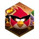 Game angry birds. spacepng icon
