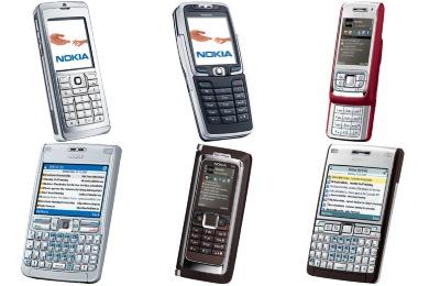 Nokia E Icons