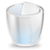 Desktop-trash-full icon
