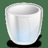 Desktop-trash-empty icon