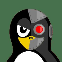Cyborg Tux icon
