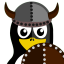 Viking-Tux icon