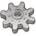 Light Grey Gear icon