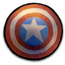 Comics-Captain-America-Shield icon