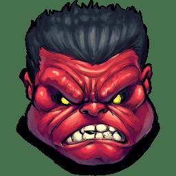 Comics Rulk Angry icon