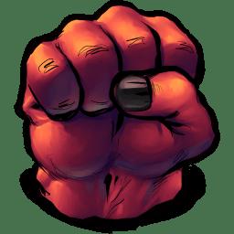 Comics Rulk Fist icon