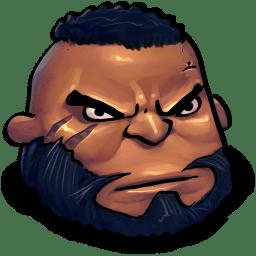 Final Fantasy Barret Wallace icon