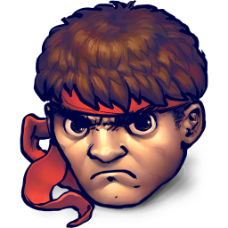 Street Fighter Ryu icon