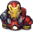 Comics-Ironman-Red icon