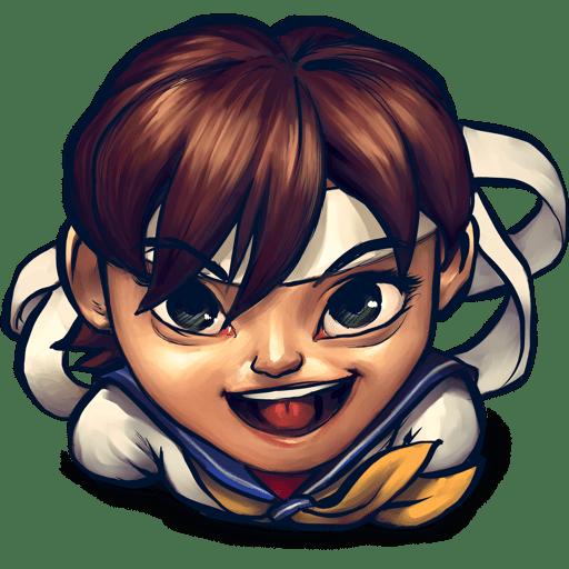 Street Fighter Sakura Kasugano icon
