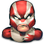 Comics Hero Striped icon