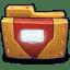 Comics-Ironman-Folder icon