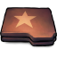 Folder-Brown-Star icon