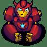 Comics-Hero-Red-2 icon